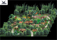New Outdoor Professional Animatronic Life Size Dinosaur Theme Park Design