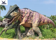 Lifesize Giant Colorful T Rex Lawn Ornament For Game Center 110 V / 220A