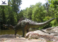 Large Outdoor Dinosaur Garden Ornaments With Silicon Rubber Durable 200-800W