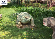 Lifelike Outdoor Move Realistic Dinosaur Models For Forest Amusement Park